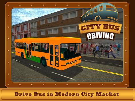 Commercial Bus City Driving 3D apk screenshot