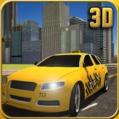 Crazy City Taxi Simulator 3D icon