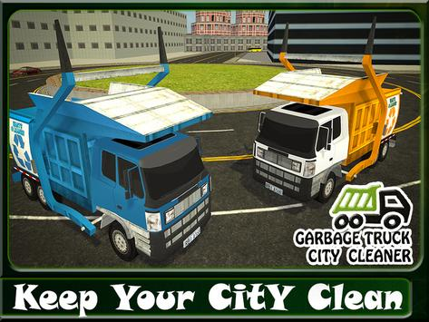 Garbage Truck City Cleaner apk screenshot