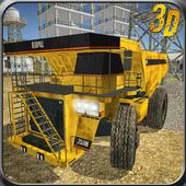 Dumper Truck Excavator Driver icon