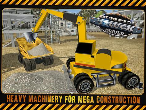 Dumper Truck Excavator Driver apk screenshot