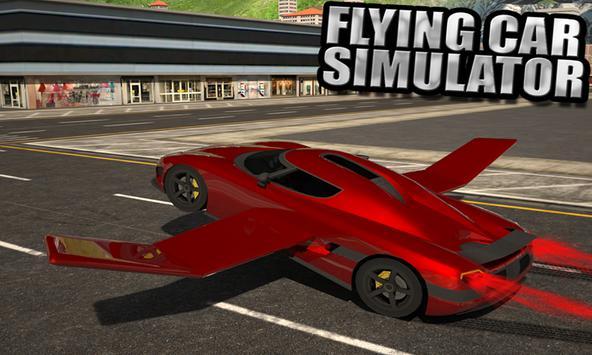 Flying Car Simulator 3D poster