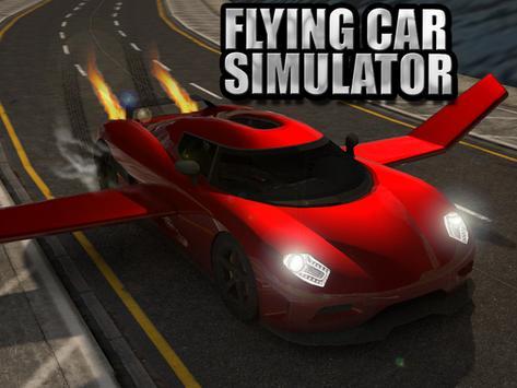 Flying Car Simulator 3D apk screenshot
