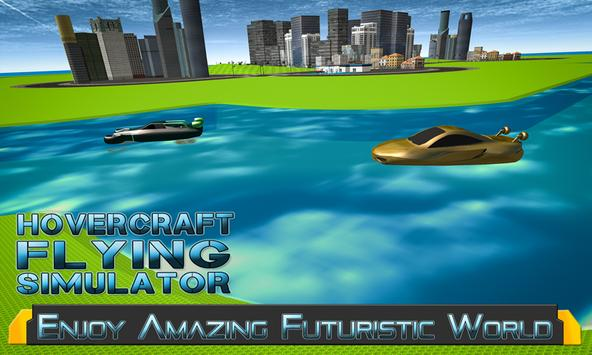 Hovercraft Flying Simulator 3D poster