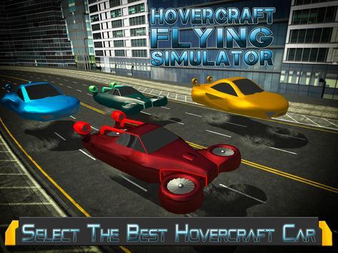 Hovercraft Flying Simulator 3D apk screenshot
