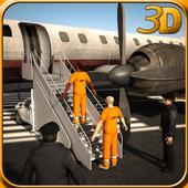 Jail Criminal Transport Plane icon
