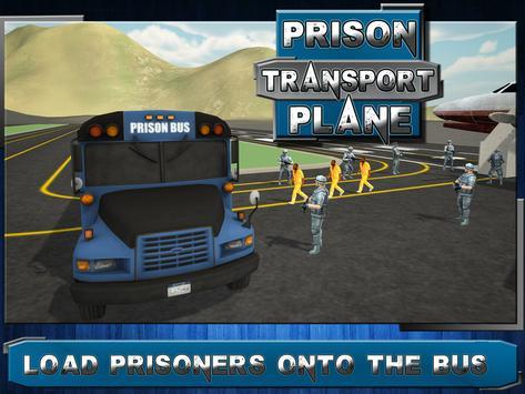 Jail Criminal Transport Plane apk screenshot