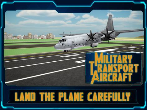Military Transport AirCraft 3D apk screenshot