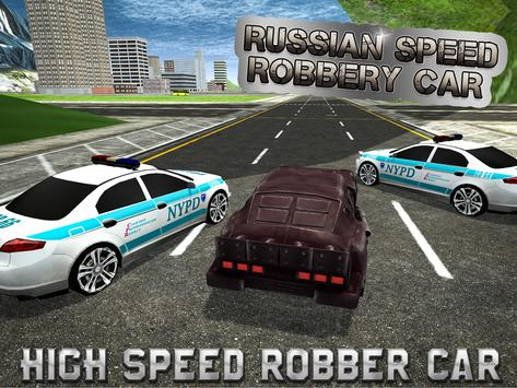 Robbers Police Chase Car Rush apk screenshot