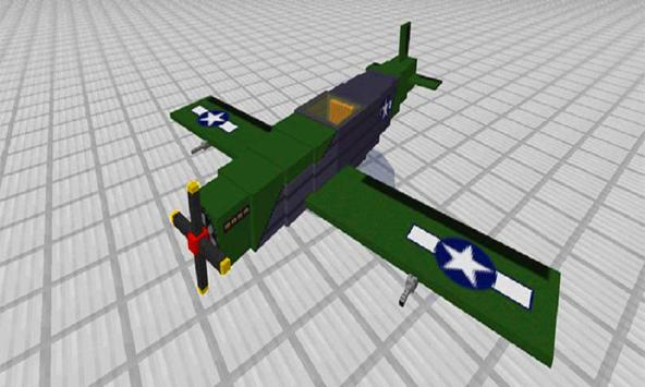 MOD Planes for MCPE poster