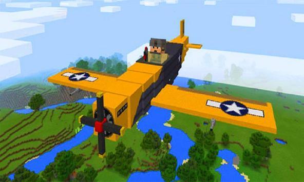 MOD Planes for MCPE screenshot 1