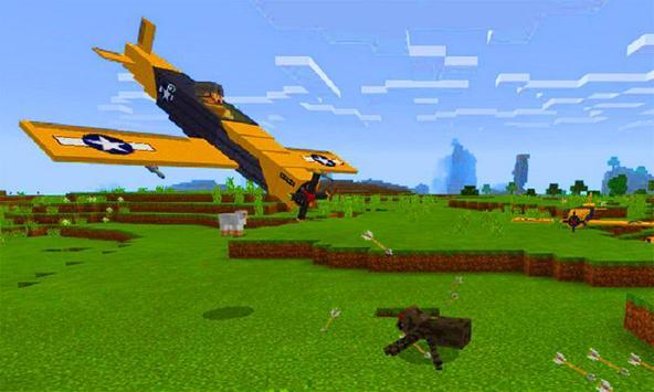 MOD Planes for MCPE screenshot 2