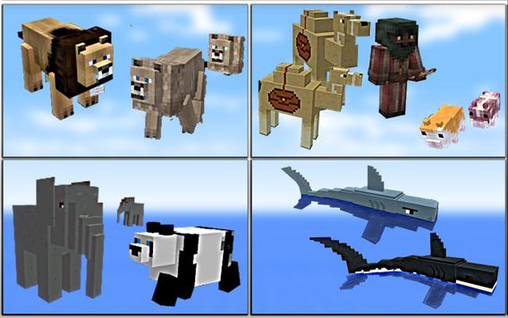 MOD Animals Creatures for MCPE poster