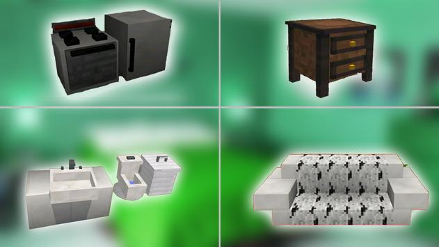 MOD Furniture for MCPE poster