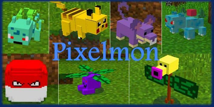 MOD Pixelmon for MCPE screenshot 3