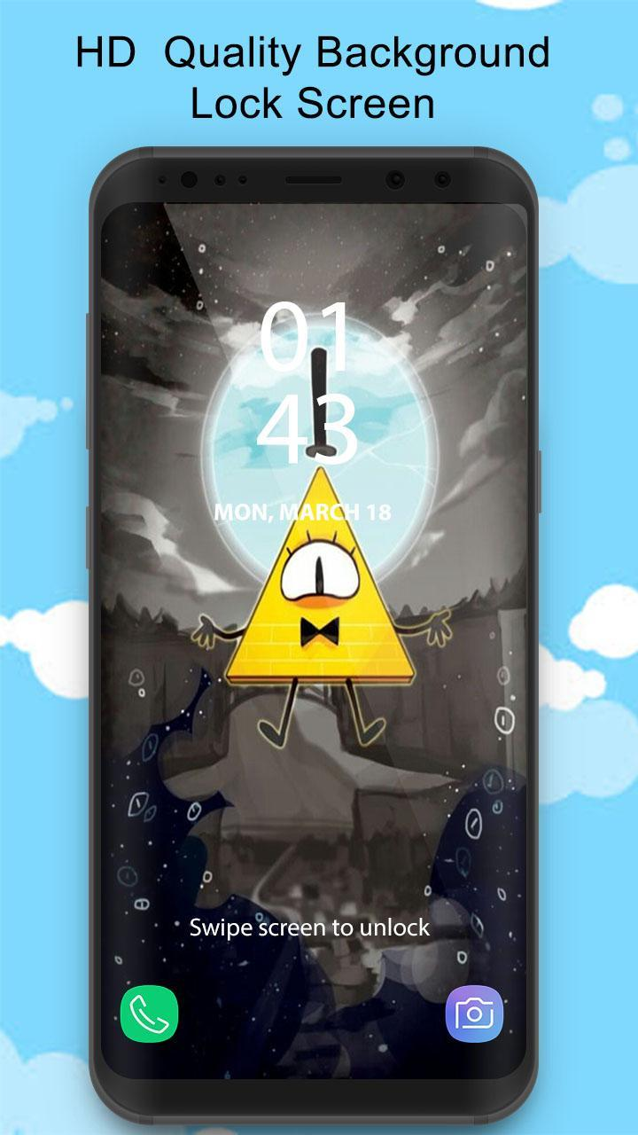 Gravity Falls Bill Cipher Wallpaper Für Android Apk