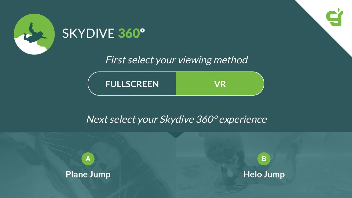 3e5229deda48 Virtual Reality 360º Skydive for Android - APK Download