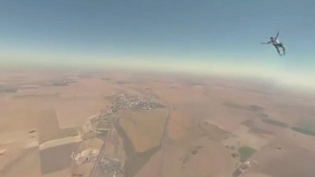 Virtual Reality 360º Skydive screenshot 1