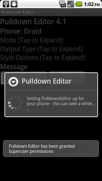 Pulldown Editor poster