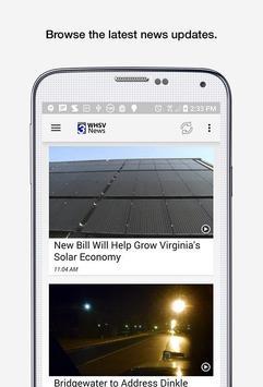 WHSV News apk screenshot