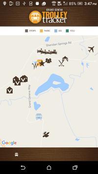 Grand Geneva Trolley Tracker screenshot 1