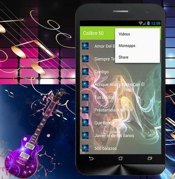 Calibre 50 - Amor Del Bueno apk screenshot
