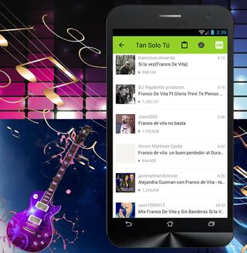 Tan Solo Tú - Franco De Vita apk screenshot