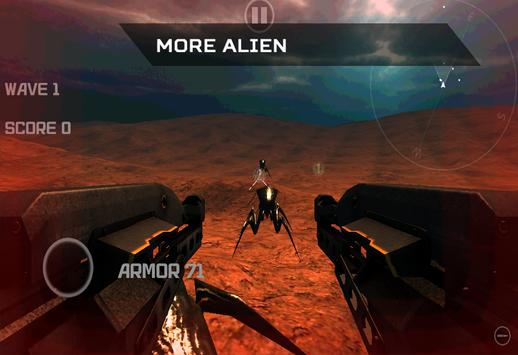 Mars War Alien Shooter apk screenshot