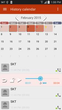 Smart Dialer(call recording) apk screenshot