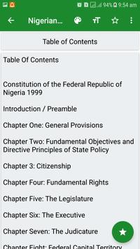 Latest Nigerian Constitution screenshot 1