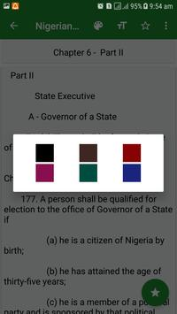 Latest Nigerian Constitution screenshot 3