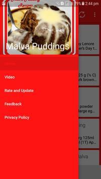 Malva Pudding Recipes screenshot 1