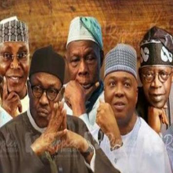 Nigeria Decides 2019 poster