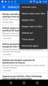 Notícias do Grêmio apk screenshot