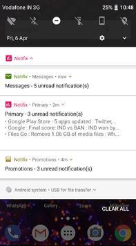 Notifix screenshot 1