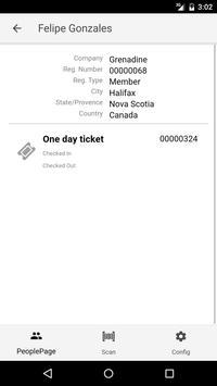 Event Checkin screenshot 2