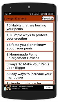Guide to Stronger Erections poster