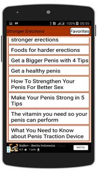 Guide to Stronger Erections apk screenshot