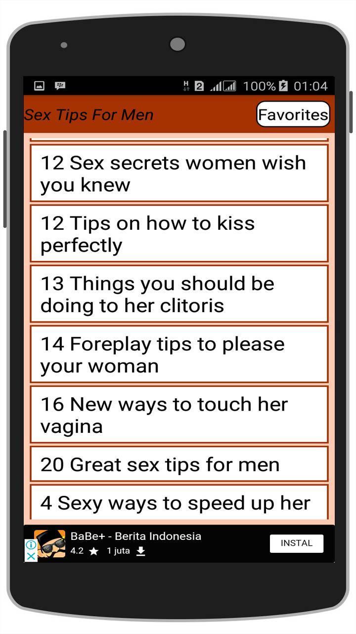 Men phone for sex tips Flirting Tips