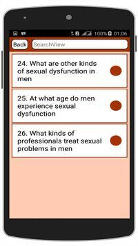 Sexual Problems in Men apk screenshot
