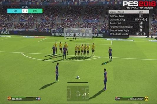 Tips Guide PES 2018 New apk screenshot