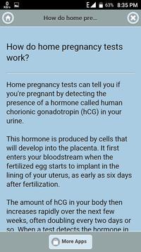 Home Pregnancy Tests screenshot 1