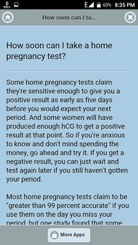 Home Pregnancy Tests screenshot 2