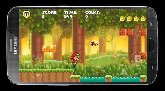 Super Boy Adventures - free apk screenshot