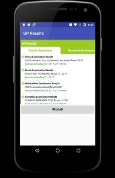 UP Results 2017 screenshot 2