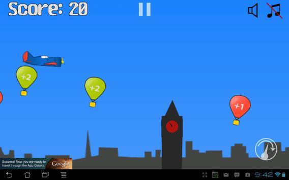 Hit the Ballons apk screenshot