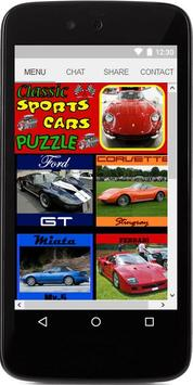 Classic Sports Car Puzzle poster