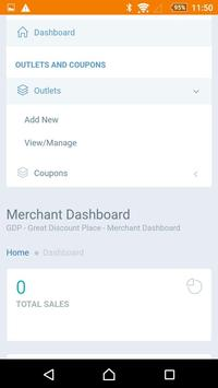 Great Discount Place- MERCHANT apk screenshot