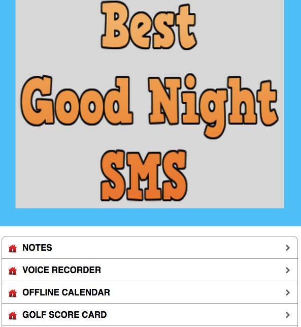 BEST GOOD NIGHT SMS APP 2019 for Android - APK Download