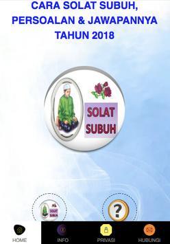CARA SOLAT SUBUH LENGKAP 2018 poster